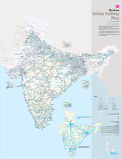 The Great Indian Railway Atlas - Now Available